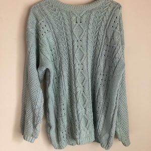 Vintage Forenza Authentic Cable Knit Sweater